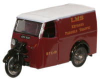 Oxford Diecast LMS Tricycle Van - 76TV003