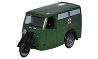 Oxford Diecast - Tricycle Van Ambulance - 76TV007