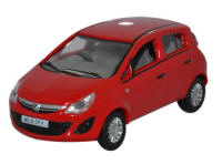Oxford Diecast Vauxhall Corse - Red - 76VC003