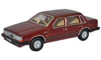 76VO002 - Oxford Diecast Volvo 760 - Red Wood Metallic