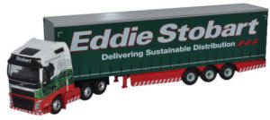 Oxford Diecast FH4 Curtainside Eddie Stobart - 76VOL4001
