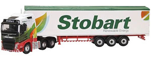 76VOL4010 - Oxford Diecast Volvo FH4 GXL Stobart Renewable Energy