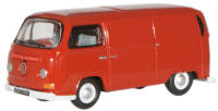 New Modellers Shop - Oxford Diecast - Senegal Red VW Van - 76VW005