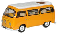 New Modellers Shop - Oxford Diecast - Marino Yellow White VW Camper - 76VW008
