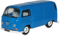 New Modellers Shop - Oxford Diecast - Regatta Blue VW Van - 76VW009