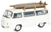 New Modellers Shop - Oxford Diecast - Pastel White VW US -76VW011