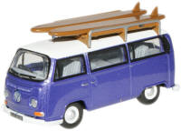 New Modellers Shop - Oxford Diecast - VW Bus Metallic Purple - 76VW015