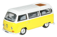 New Modellers Shop - Oxford Diecast - VW Camper Saturn Yellow White -76VW016