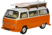 Oxford Diecast - Signal Orange White VW Bay Bus - 76VW022