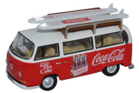 76VW030CC - Oxford Diecast Volkswagen Bay Window Coca Cola