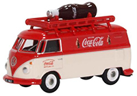 76VWS007CC - Oxford Diecast VW Van - Bottle Coca Cola