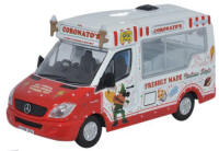 Oxford Diecast - Mercedes Whitby Mondial Ice Cream Van - Coronatos - 76WM003