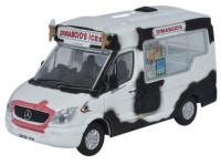 Oxford Diecast - Mercedes Whitby Mondial Ice Cream Van - Dimachios - 76WM004