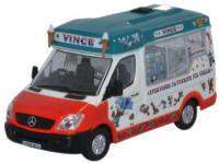 Oxford Diecast - Mercedes Whitby Mondial Ice Cream Vinces - 76WM005