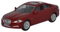 Oxford Diecast Jaguar XF - Red - 76XF001