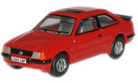 New Modellers Shop - Oxford Diecast - Rosso Red Ford Escort XR3i - 76XR004