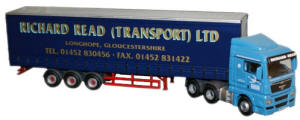 MAN01CS - Oxford Diecast Man TGX - Richard Read
