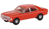 NCOR3003 - Oxford Diecast Ford Cortina MkIII - Sebring Red