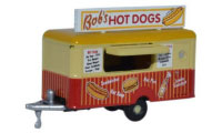 NTRAIL001 - Oxford Diecast Mobile Trailer Bobs Hot Dogs - N-Gauge