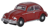 NVWB002 - Oxford Diecast Ruby Red VW Beetle