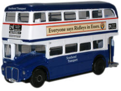 New Modellers Shop - Oxford Diecast - Routemaster Bus Southend Transport AEC Routemaster - RM108