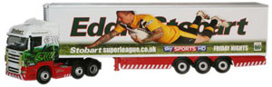 Oxford Diecast Scania Highline Stobart Super League - Castleford Tigers SHL13FR