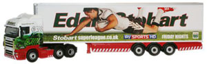 Oxford Diecast Scania Highline Stobart Super League - Widnes Vikings - SHL14FR