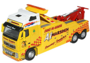 New Modellers Shop - Oxford Diecast A1 Marsden Volvo Recovery Truck - VOL03REC
