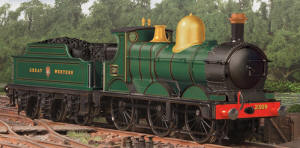 Oxford Rail - Deans Goods Steam Locomotive - GWR 2309 - OR76DG001