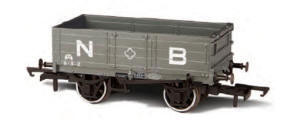 Oxford Rail NBR 4 Plank Wagon - OR76MW4001