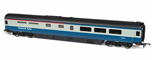 Oxford Rail - Mk 3a Coach RUB BR Blue & Grey M10025 - OR763RB001