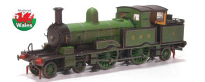OR76AR005W - Oxford Rail East Kent Railway 4-4-2T Adams Radial 415 Class - Weathered