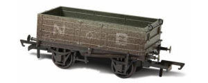 Oxford Rail NBR 4 Plank Wagon, Weathered - OR76MW4001W