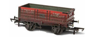 Oxford Rail - R.Taylor & Sons Ltd - 4 Plank Wagon (weathered) - OR76MW4002W