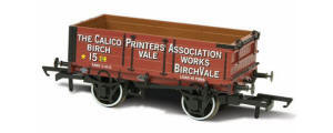 OR76MW4010 - Oxford Rail - Calico Printers Assn No.15 - 4 Plank Wagon