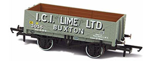 OR76MW5005 - Oxford Rail - ICI (Lime) Ltd Buxton - 5 Plank Mineral Wagon