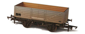 Oxford Rail BR 6 Plank Wagon OR76MW6002W