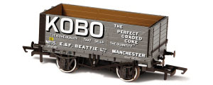 Oxford Rail - KOBO - 7 Plank Mineral Wagon - OR76MW7021