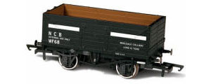 OR76MW7030 - Oxford Rail - NCB Internal User - 7 Plank Mineral Wagon