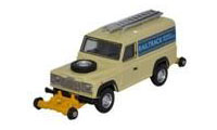 OR76ROR001 - Oxford Rail - Rail / Road Defender - Railtrack