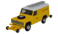 OR76ROR003B - Oxford Rail - Rail / Road Defender - British Rail