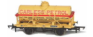 OR76TK2002 - Oxford Rail - Carless Naptha No10 Fuel Oil Tank Wagon 12 Ton