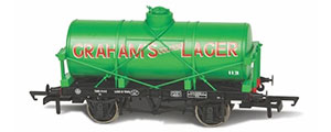 OR76TK2006 - Oxford Rail - Grahams Golden Lager No113 12 Ton Tank Wagon