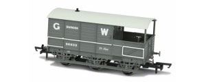 Oxford Rail - GWR Toad Brake 6 Wheel Planked (early) 'Swindon' - OR76TOA001
