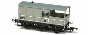 Oxford Rail - BR Toad Brake 6 Wheel Plated 'Wolverhampton 56962' - OR76TOA004