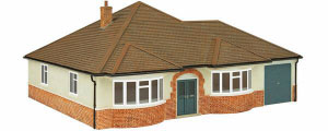 OS76T005 - Oxford Structures - Bungalow 'Avalon'