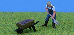 P and D Marsh - Farmer Pitchfork & Barrow - PDZ30