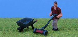 P and D Marsh - Lawnmower Barrow Gardener - PDZ31