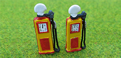 P and D Marsh - 1950's Petrol Pumps (2) - PDZ35