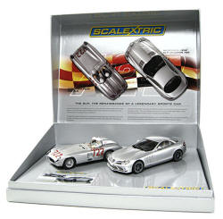 Scalextric 50th Anniversary Commenmorative Pack - Mercedes-Benz - C2783A